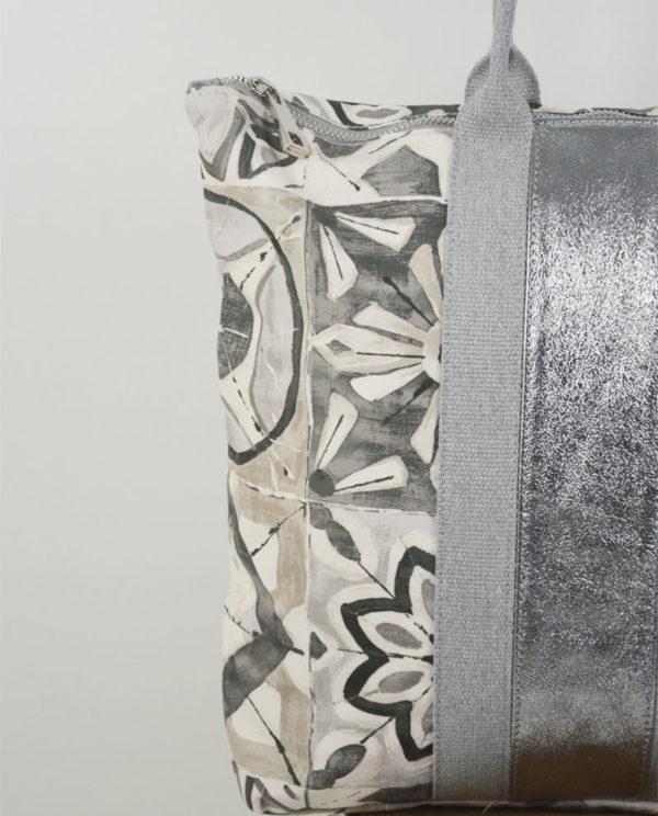 Marta cotone simboli banda laminata canna di fucile dettaglio.